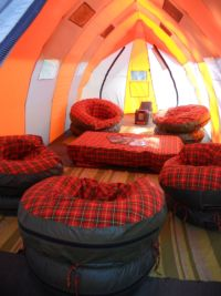 Nature Discovery's new lounge tent for Kilimanjaro treks