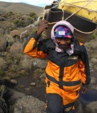 Nature Discovery outfits their porters for Kilimanjaro