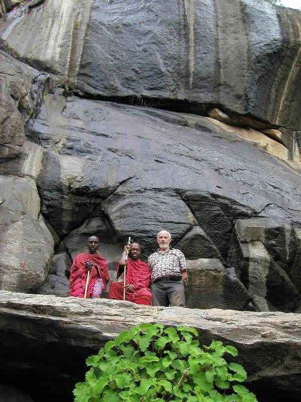 The orlpul caves at Longido, with Sambeke