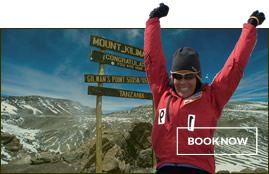 Book Now - Climb Kilimanjaro
