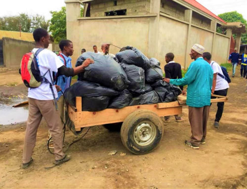 Cleaning up Tanzania Together