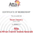 ATTA Membership Certificate