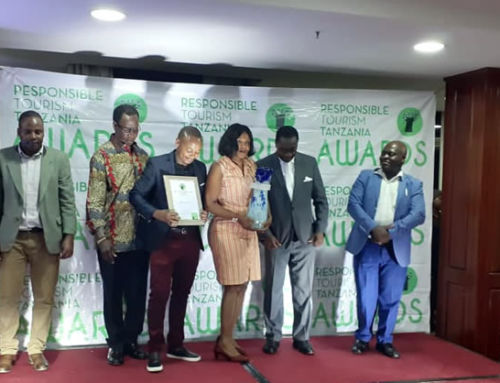 Nature Discovery Awarded 'Best Responsible Tour Operator in Tanzania' 2019