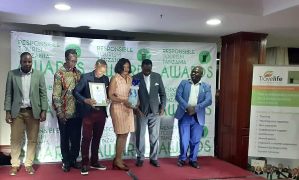 Responsible Tourism Award 2019